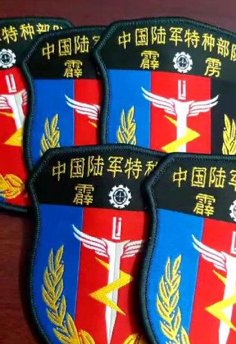 特种部队霹雳袖标袖章 旗帜布料制作